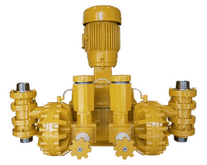 AquFlow Series 4000 compact, hydraulically actuated diaphragm metering pump