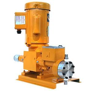 Oil & gas low flow hydraulic diaphragm metering pump