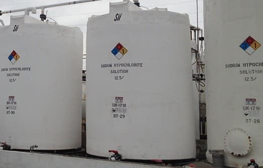 Chlorine tank - AquFlow Metering Pumps