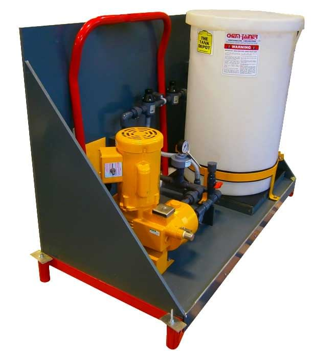 Skid-Mounted Chemical Injector