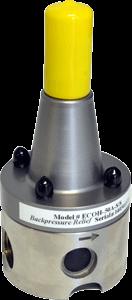 AquFlow high flow capacity back pressure valve